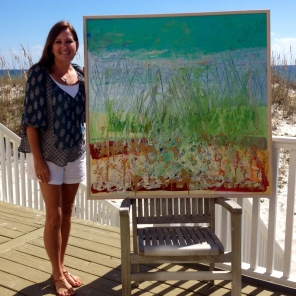 Gulf Shores Beach Painting~ Allison Adams