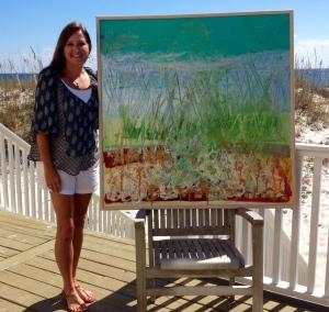 Gulf Shores Beach Painting~ Allison Adams